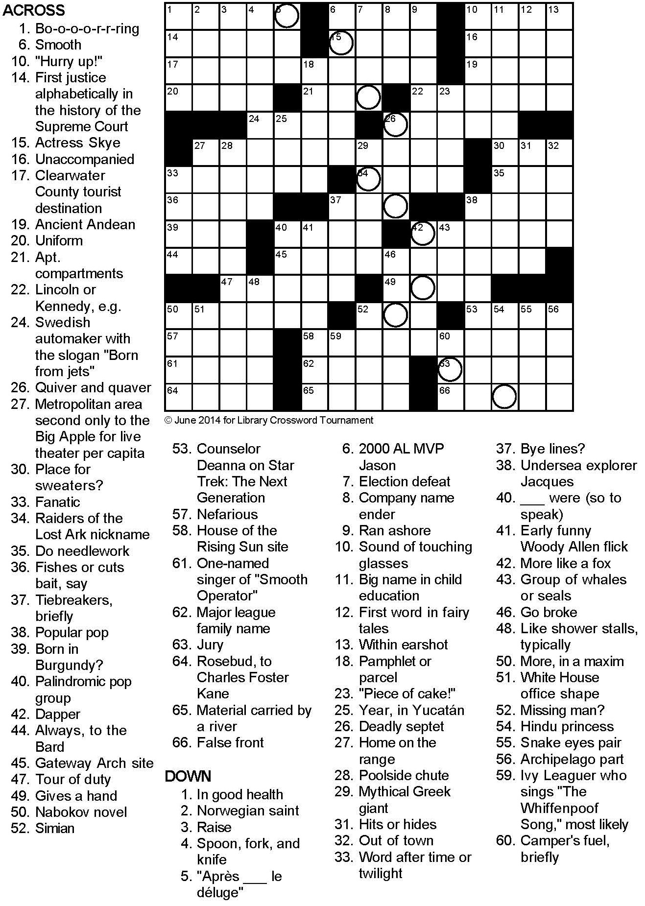 coursework segment crossword clue